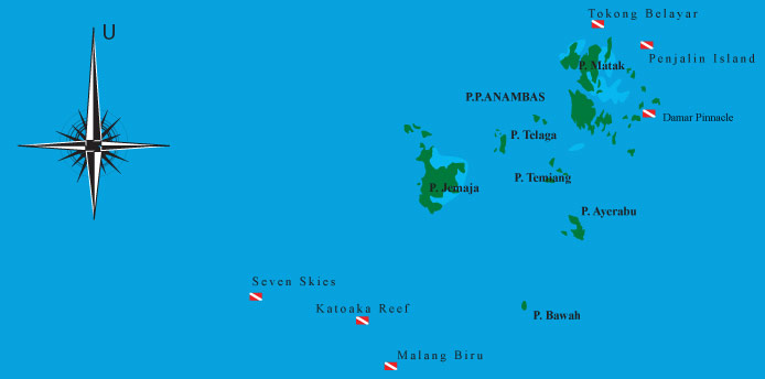 Peta Situs Selam Anambas