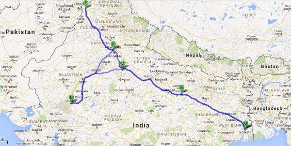Itinerary Map Fixed