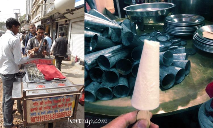 Kulfi-dan-Pedagang-Kulfi-di-New-Delhi