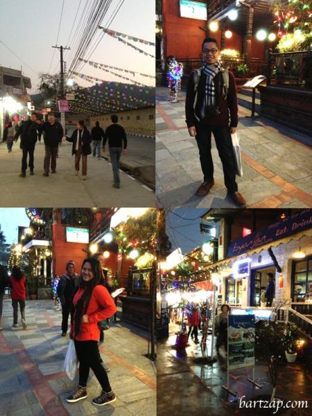 malam-natal-di-pokhara