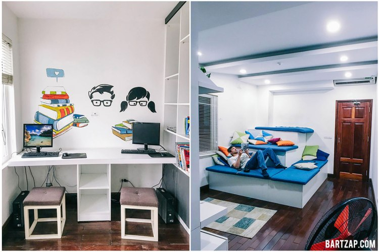 library-and-tv-room-nexy-hostel-penginapan-backpacker-keren-di-hanoi-old-quarter-bartzap-dotcom